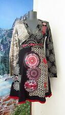 DESIGUAL Dress Long Sleeve Size L