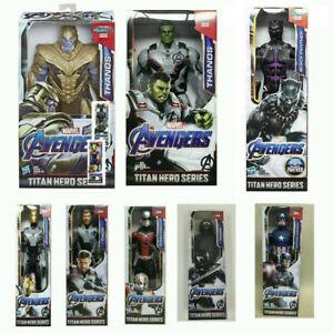 "12"" Avengers 4 Endgame Iron Man Thanos Hulk Action Figure Toys Kids Xmas Gift UK"