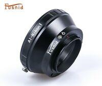 USA Best Nikon F mount AI/Non Ai lens To Nikon 1 mount Adapter J1 V1 2 3