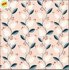 Liliana From Modern Love By Monaluna Fabrics  100 % Organic Cotton Poplin Fabric