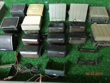 Motorola kenwood GE Mobile VHF UHF radio external Speakers MIXED LOT of 16 #C9