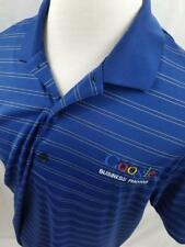 Google Business Photos Greg Norman Employee Issued Adult XL Golf Gray Polo Shirt