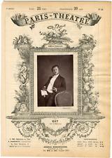 Cliché Quinet, Paris-Théâtre, Edmond-François-Jules Got (1822-1901), acteur Vint