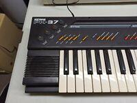 Mid 80's Vintage Suzuki Keyman PK-37 SIEL Italy MIDI Synth Keyboard