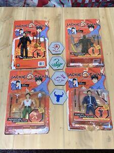 Jackie Chan Adventures Complete 4 Sets Section 13 Figure Playmates 2001