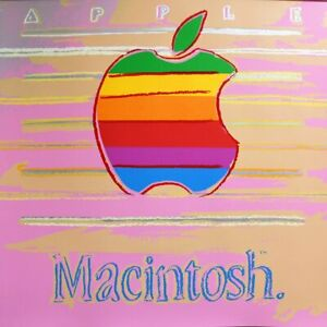 "ANDY WARHOL- ""APPLE"" - Macintosh Apple- Silkscreen- 3 DAY SUPERSALE- ASK 4 PRICE"