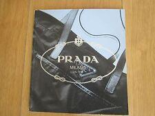 Prada 2009 Women's Bags Magazine.