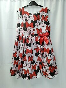 ❤ Girls Minnie Mouse Dress Age 5 To 6 Years 120cm BNWT