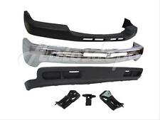 99-02 SILVERADO 2WD 2500HD 3500 FRONT BUMPER CAP FACE BAR CHROME VALANCE BRACKET