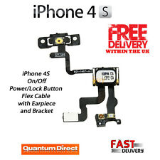 iPhone 4S On/Off Power/Lock/Button/Switch with Earpiece and Bracket Replacement