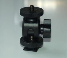 Adjustable angle Hot Shoe Mount Adapter for zoom h1 h4n pro  tascam dr-40 05 07