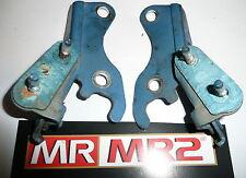 Toyota MR2 MK2 Blue 8J2 Engine Lid Cover Hinges - Mr MR2 Used Parts 1989-1999