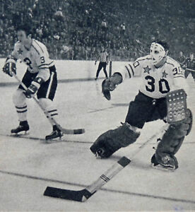 NOSTALGIA HOCKEY PRINT PHOTO TONY ESPOSITO ALL START GAME   TE13