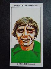 LE SOLEIL soccercards 1978-79 - JIMMY RIMMER - ANGLETERRE #158