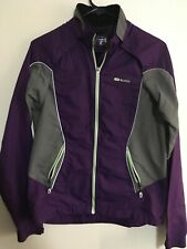 Sugoi Womens Cycling Zip Jacket MEDIUM . Purple With Magnets For Pockets
