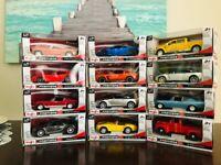 Maisto Premiere DC  1:24 Diecast Model Cars