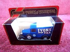 Matchbox Y-22 1930 Model 'A' Ford Van Lyons Tea Models Of Yesteryear Collectable