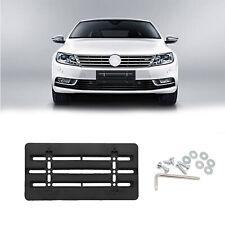 License Plate Tag Holder Mounting Adapter Bumper Kit Bracket For Volkawagen VW