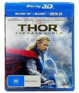 Thor: The Dark World 3D (3D + 2D Blu-ray + Digital, 2013) 2 Disc Region B