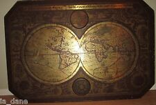 """1964 MASKETEERS OLD WORLD MAP, 1600's MAP STYLE 44"""" x 30"""""""