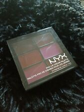 NYX Cosmetics Pro Lip Cream Palette The PLUMS Brand New AUTHENTIC