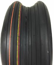 2 New Tires 11 4.00 5 Transmaster Rib 4 Ply Mower 11x4.00-5 Lawn Garden