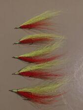 Bucktail River Streamer Flies- Hand Tied - Walleye, White Bass, Salmon (285)