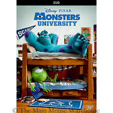 Pixar College Expulsion Fraternity Competition Comedy Monsters University on DVD