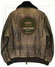 CHEVIGNON old flight jacket badge patch RAF L rare no avirex