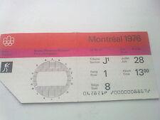 Billet Jeux Olympiques Montréal 28.07.1976 - boxe (13:00)