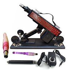 love dildo sex toy machine fucking slave vaginale rosso oro vibratore macchina
