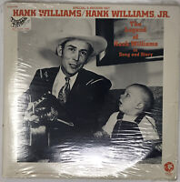 The Legend Of Hank Williams Of Song & Story LP Original Pressing Sealed 2SES4865