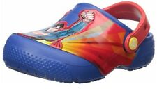 crocs Fun Lab Superman Clog Kids/Youth Size J2 NWT