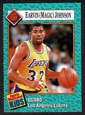1989 Sports Illustrated For Kids, Vol 1, #3, Insert #27, Lakers' Magic Johnson..