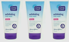 Clean and Clear Daily Exfoliating Face Wash 3x150ml OIL FREE & Fast Delivery