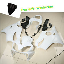 Unpainted Injection Fairing Cowl Kit Body For Honda CBR600 CBR 600 F4i 2001-2003