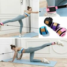 Resistance Bands With Ankle Straps Cuff With Cable Leg Pulley Strap Lifting Butt