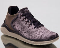 Nike Free RN 2018 Wild Velvet Women Running Shoes Grey Brown Sneakers AQ0563-020