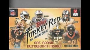 2013 Topps Turkey Red Football Factory Sealed Box Unopened (Quantity Available)
