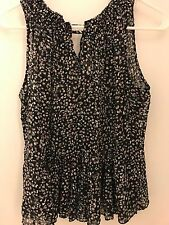 Rebecca taylor silk floral top size 4