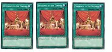 3x Offerings to the CONDENADO bp03-en138, COMÚN, menta, inglés, 1st, playset