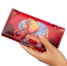 Fashion Women Wallets Handbags Purse Cute Elephant Long Clutch Wallet Bag