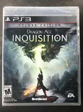 🏰Brand New!! Dragon Age: Inquisition: Deluxe Edition(Sony PS3, 2014) Sealed!!🏰
