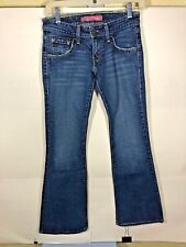Women Levis 524 Jeans Too Super Low Flare 1 M