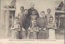 Solomon Islands priesters on Buka Island 1910s PC