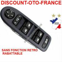 Platine commande bouton leve vitre conducteur PEUGEOT 308  -  6490.QY - 6492.28