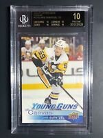 2016-17 Upper Deck Jake Guentzel Young Guns Canvas Rookie BGS 10 Black Label