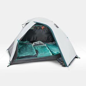 Quechua Tent Mh100 Fresh & Black Camping Easy Assemble 3 Person Blackout