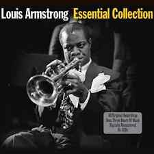 Louis Armstrong ESSENTIAL COLLECTION Best Of 60 Songs NEW SEALED 3 CD