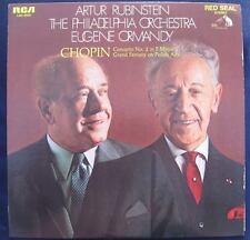 1969 ARTUR RUBINSTEIN PHILADELPHIA ORCHESTRA ORMANDY LP